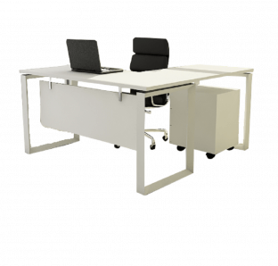 191-Executive L-Shape Desk