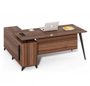 Executive Desk With side desk and Drawer Pedestal