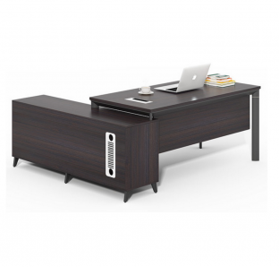 1.8mtr Executive Desk With Three Drawer  Pedestal