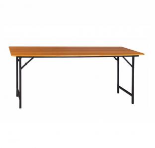 Folding Table With Metal Legs | Garnet Furniture