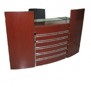 0S-391/QP 71 Reception Desk | Garnet Furniture