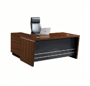 1.8mtr Executive Desk With Three Drawer Mobile Pedestal