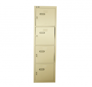 Metal Four Tier Locker