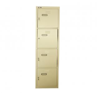 Metal Four Tier Locker | Garnet Furniture