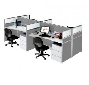 Cluster Of Two Work Station | Garnet Furniture