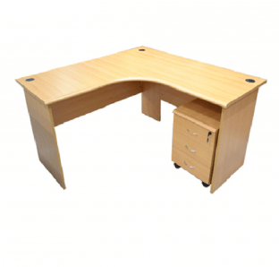 Curved writing Table