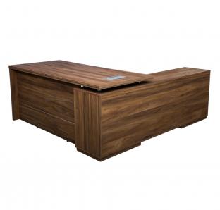 L-Shape Executive Desk | Garnet Furniture