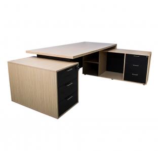L-Shape Executive Desk(RATA-L235) | Garnet Furniture