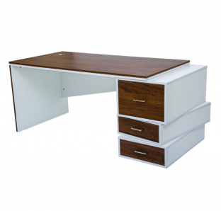 Executive Desk With Zig Zag Drawers | Garnet Furniture