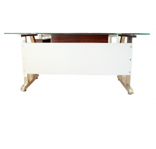 Executive Desk With Glass On Top | Garnet Furniture