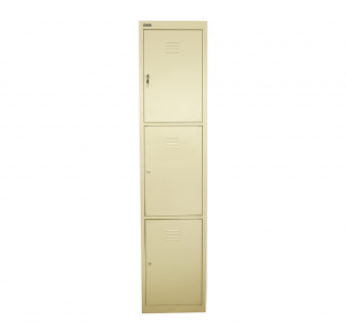 Metal Three Tier Locker | Garnet Furniture