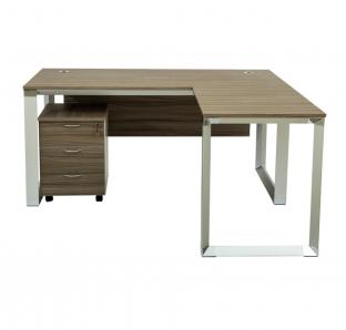 Vi18 L-Shape Executive Desk | Garnet Furniture
